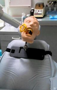 Dental X ray Training Simulator hair Mount Mask Brand New 12 Avail Many Sold