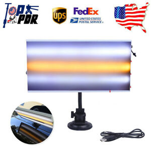 Pdr Paintless Dent Repair 3 Led Light Board Lamp Reflector Straches Hail Removal