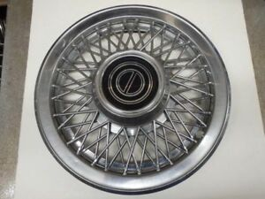 Wheel Cover Hubcap Wire Design Fits 84 93 Mustang 9971