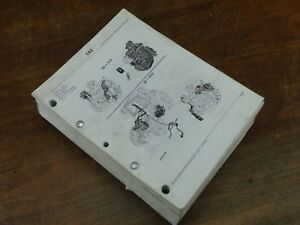 Oem Factory John Deere Tractor Parts Catalog Book Manual 6200 6300 6400 6500 L