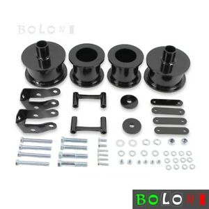 3 Carbon Steel Spring Spacers Shock Extenders Kit For Jeep Wrangler Jk 07 16