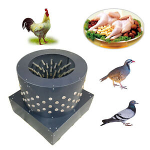 220v Chicken Feather Plucker Machine Turkey Dove Duck Poultry Bird Depilator