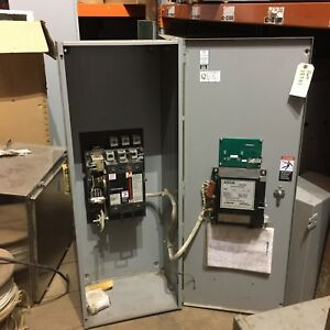Asco Automatic Transfer Switch 225amps 208volts 60hz 3 Phase Series 300