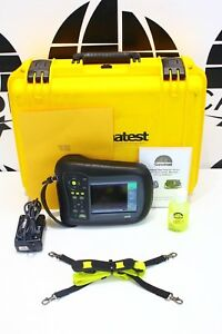 Sonatest Masterscan D 70 Ultrasonic Flaw Detector Loaded W Options Calibrated