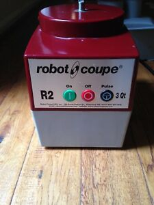 Robot Coupe R2n 12c Food Processor