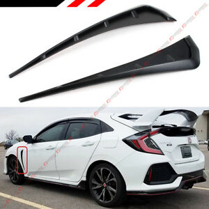 For 2016 2018 Honda Civic Fk8 Type r Style Add on Front Fender Side Vent Cover