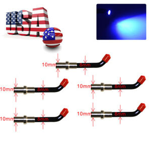 5pcs 8 10mm Dental Curing Light Guide Rod Tipled Tip For Curing Light Dentist