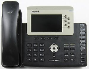 Yealink Sip t38g 6 line Gigabit Voip Color Business Ip Phone complete Set