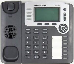Grandstream Gxp2100 Mainstream 4 line Ip Business Phone