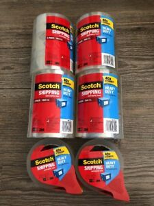 Scotch 3850 3m Clear Heavy Duty Shipping Packing Tape 14 Rolls 765 Yds Dispenser