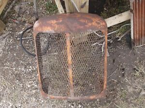 Allis Chalmers Wd Wd 45 Tractor Grill Rat Rod As Is Man Cave No 2