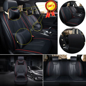 Universal 5 seat Auto Car 3d Seat Covers Breathable Front N Rear Cushion Pillows