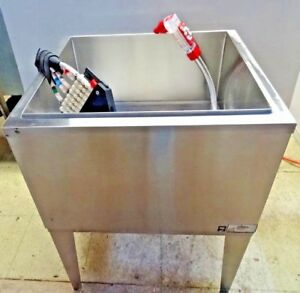 34 Tall Capital Foods Ice Bin W Cold Plate Coke Wunder Bar Dispensing System
