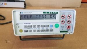 Hp 3468a Multimeter Tested Good