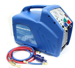 Hvac Ac Refrigerant Recovery Machine 3 4 Hp Compressor For R410a R134a R22 Gas