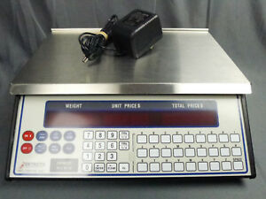 Used Detecto Price Computing 30 X 01 Lb Pc 30 Digital Price Computing Scale