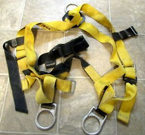 Miller Harness 851 With Miller Shock Absorbing Lanyard 216wls