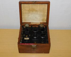 Vtg Leeds Northrup 5300 Lab Test Set Resistance Measurement Device Steampunk