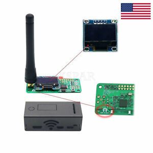 Mmdvm Hotspot Module With Oled And Antenna Case Support P25 Dmr Ysf Us Seller