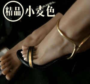 1 Pair Lifesize Realistic Silicone Foot Mannequin Fetish Love Jewelry Display 43