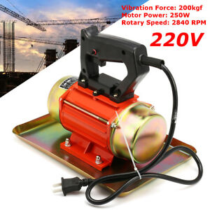 New 220v 250w Hand held Cement Vibrating Troweling Concrete Vibrator 2840 Rpm