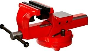 Yost Vises Fsv 5 5 Heavy duty Forged Steel Bench Vise With 360 degree Swivel
