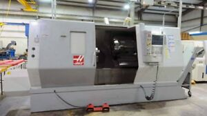 Haas Sl 40 W Extra performance Option Cnc Turning Center 7 Bore New 2010