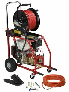 Spartan Tool 727 Electric Mini Sewer Jet Jetter Drain Cleaning Machine 72700000