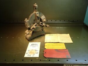 Atlas 10 Qc Lathe Steady Rest And Ephemera Used In Good Condition