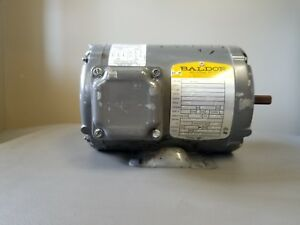 Baldor Industrial Three Phase Motor Cat No M3457