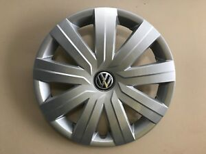 2015 2016 Vw Volkswagen Jetta S 15 Genuine Oem Hubcap Wheel Cover 5c0 601 147 D