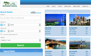 Profitable Travel Booking Website Business For Sale Automated Hotel Book Site