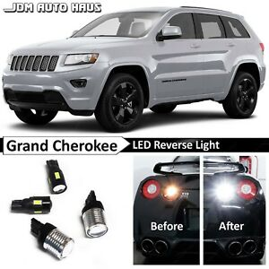 921 7440 White Reverse Backup Led Lights Bulb Fits Jeep Grand Cherokee 2011 2015