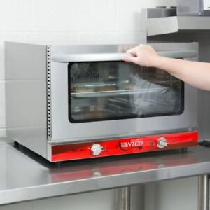 New 1 2 Size Commercial Restaurant Kitchen Countertop Electric Convection Oven
