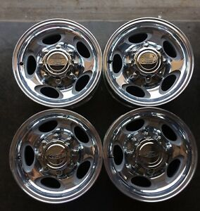 Set Of Four 00 04 Ford F250 F350 Excursion Wheels Rims Polished 16 3408