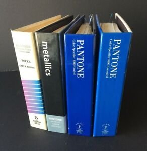 Pantone Color Specifiers Cmyk Metallic Pms Coated Pms Uncoated Used