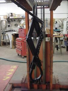 Well Drilling Crane Or Gantry Hoisting Scissor Tongs Or Grab