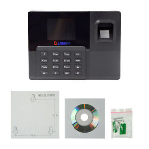 A9 32bit 2 8 Tft Attendance Machine Fingerprint Time Clock Reader Biometric
