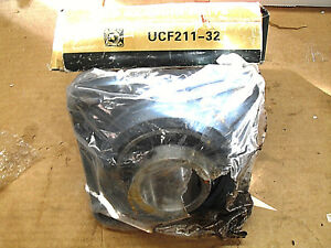 2 Inch Nkb Ball Bearing Ucf211 32 4 Bolts Flanged Housing Mounted Bearings