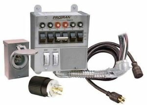 Reliance Control 31406crk 30 Amp 6 circuit Pro transfer Generator Switch Kit