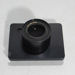 Wild Heerbrugg Microscope Adapter Plate With 0 8x Mps Lens 419610 195182