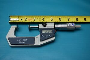 Used Mitutoyo 1 2 Digital Disc Micrometer 323 712 30