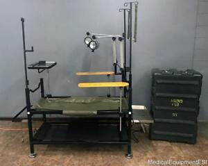 Military Portable Field Operating Table 6530 01 321 5592 Surgery Emergency Or