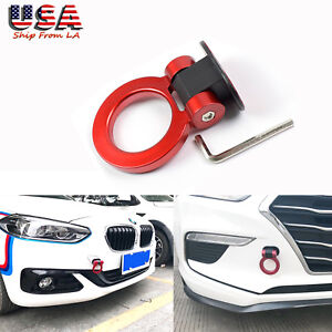 Abs Red Track Racing Tow Hook For Subaru Ford Bmw Audi Chevy Honda Toyota Nissan