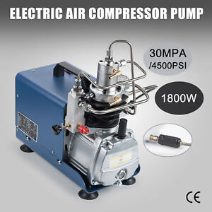 High Pressure Electric Air Compressor Pump 50 L Min 110v 30mpa