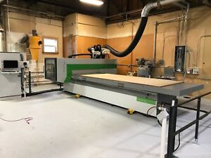 2016 Biesse Rover A 1536 C Axis 5x12 Table Cnc Router