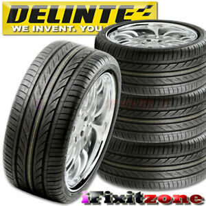 4 Delinte Thunder D7 205 40zr17 84w Ultra High Performance Tires 205 40 17