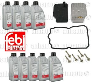 Transmission Filter Kit 9 Liters Fluid For Mercedes Benz With 722 9xx 7 Speed