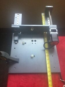 Twin Slide With Stepper Linear Actuator With Controller And Power Supply