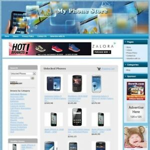 Phone Store Highly Profitable Online Business Website Amazon google dropship
